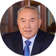 The first President of the Republic of Kazakhstan - Elbasy N.A.  Nazarbayev