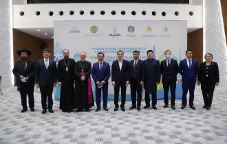 An international conference was held in Nur-Sultan «Spiritual concord - the basis of peace» dedicated to the Day of Spiritual consent