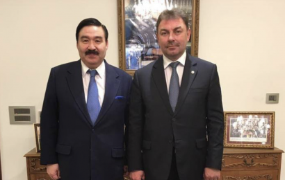 The Chairman of the Board of N. Nazarbayev Center met with the Minister of Emergency Situations of Kazakhstan
