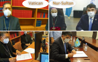 The Nursultan Nazarbayev Center for the Development of Interfaith and Intercivilizational Dialogue and the Pontifical Council for Interreligious Dialogue of the Holy See (Vatican) signed a Memorandum of Understanding
