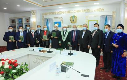 Bulat Sarsenbayev, Chairman of the Board of the Nazarbayev Center, took part in the presentation of the book «Tapsirler tandaulysy»